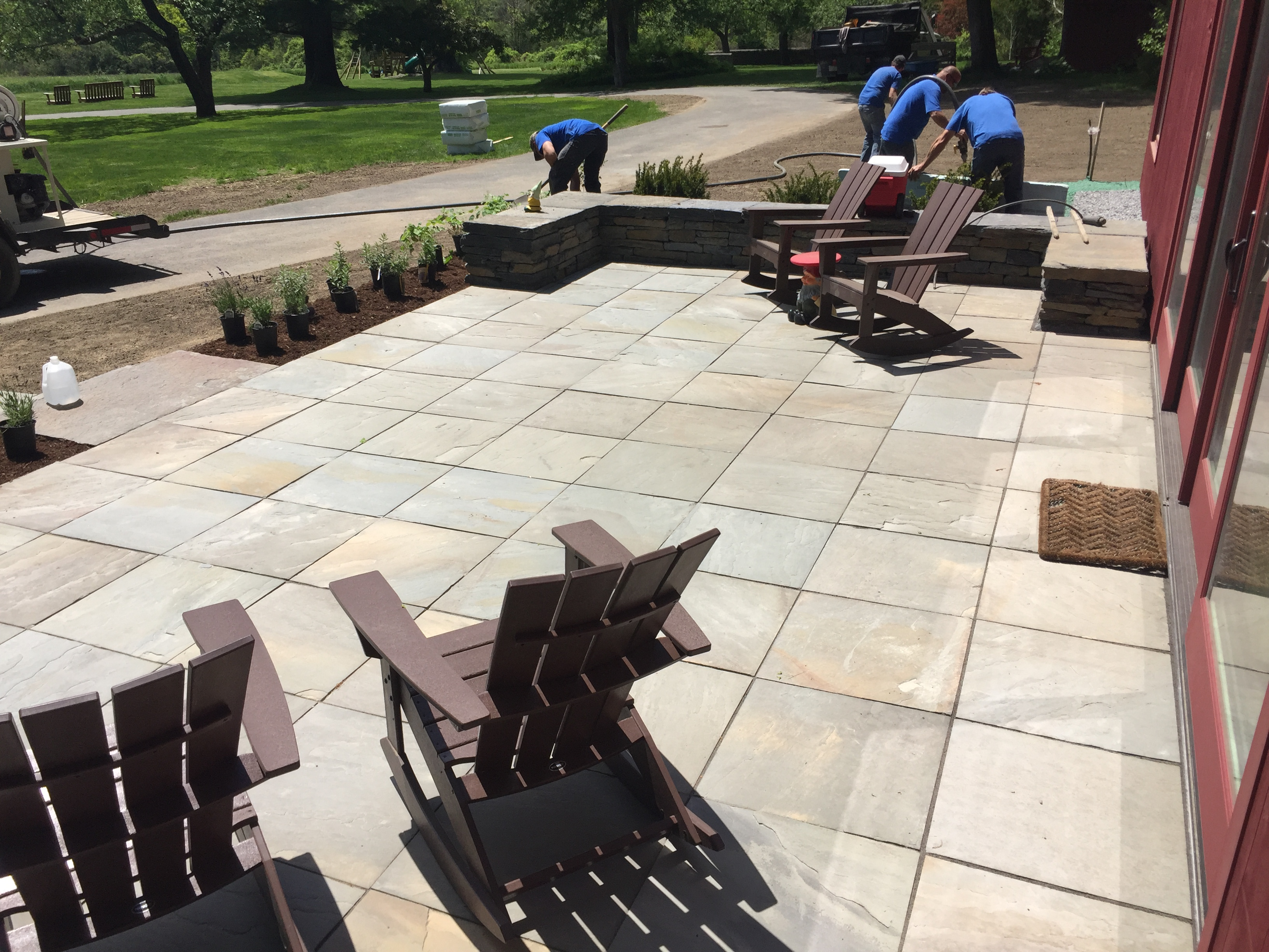 We Carry A Variety Of Local Quarried Stone, Including Ashfield Stone,  Bluestone, Limestone, Landscape Boulders, And Crushed Stone/gravel In  Various Colors ...